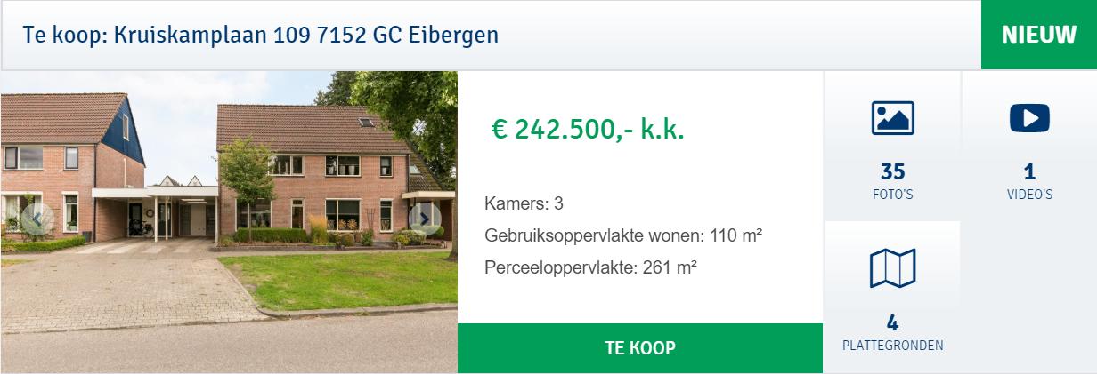 Kruiskamplaan 109 Eibergen